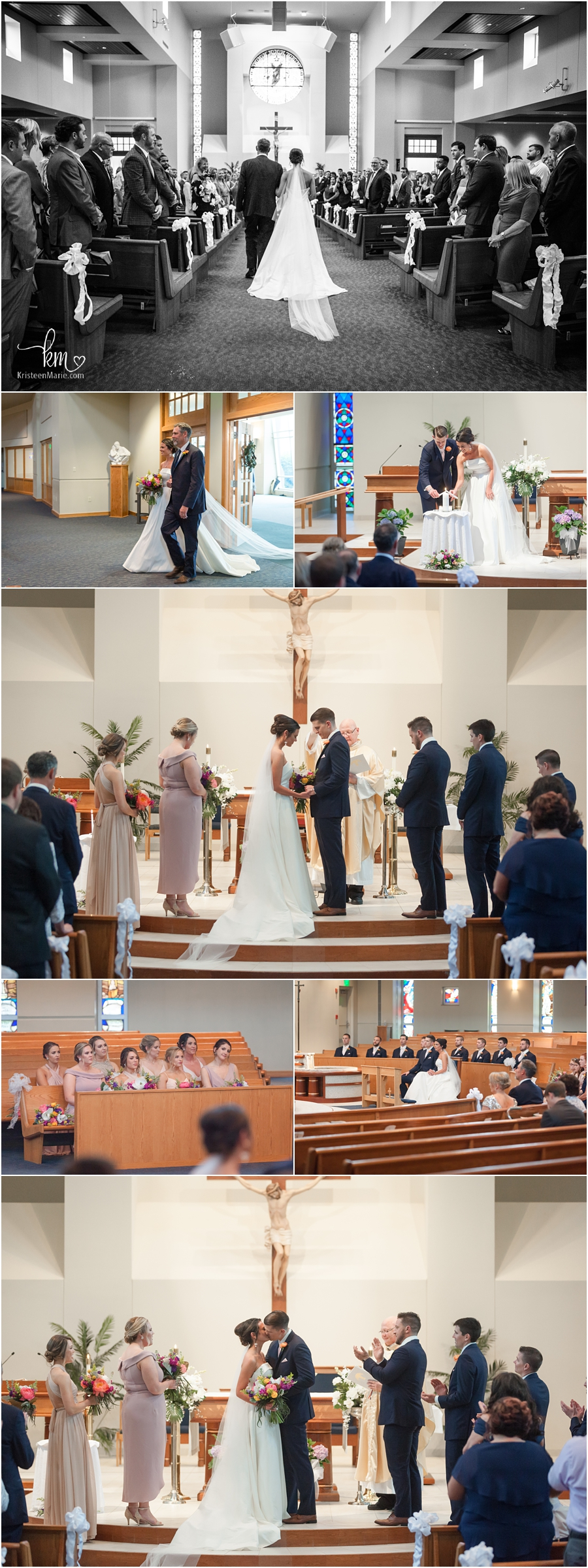 Wedding at St. Simon the Apostle Church