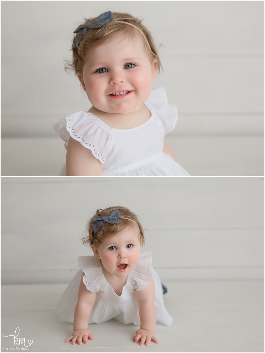 beautiful blue eyed birthday girl - Indianapolis photographer