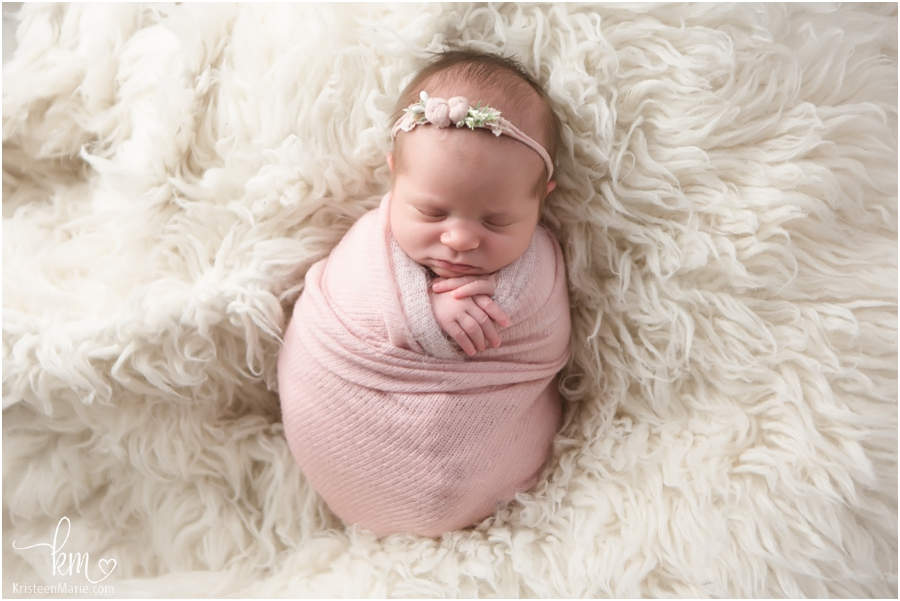 pretty in pink - newborn baby girl