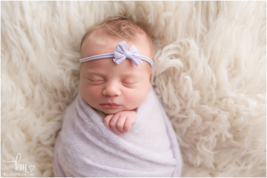 Newborn photography in Zionsville, IN