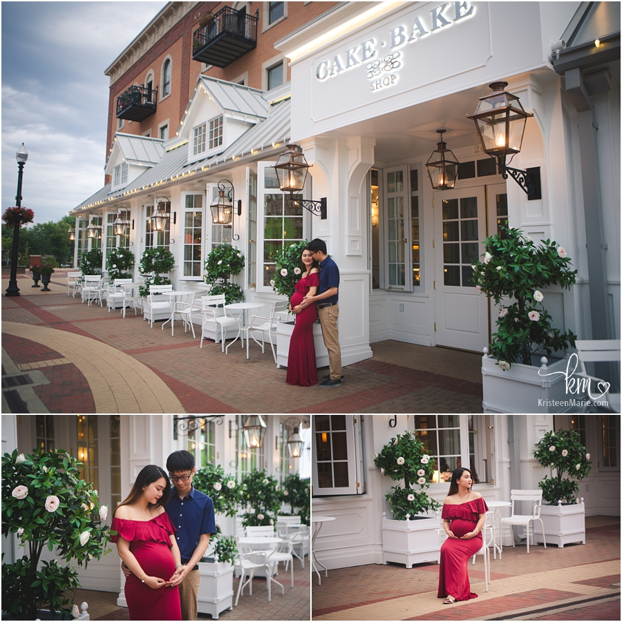 The Cake Bake Shop in Carmel, IN - maternity photography