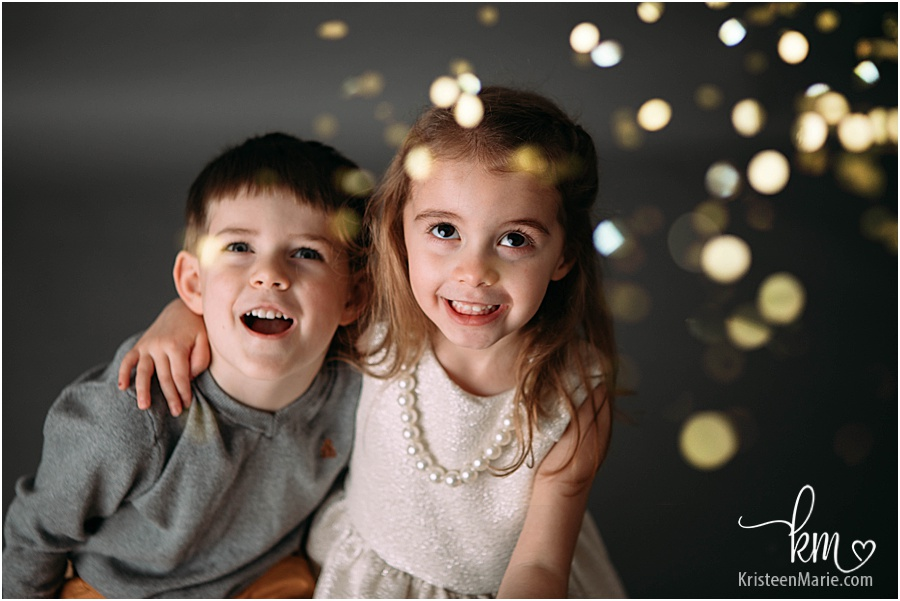 gold glitter photography studio