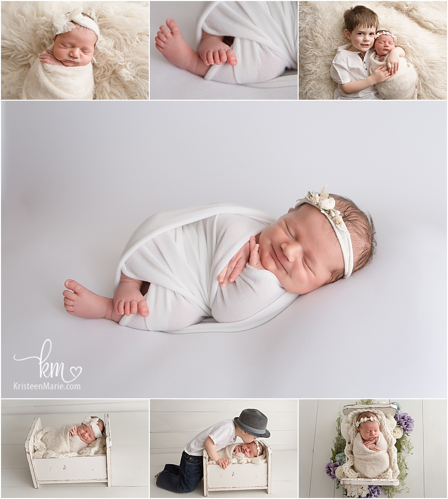newborn pictures of baby Brynn