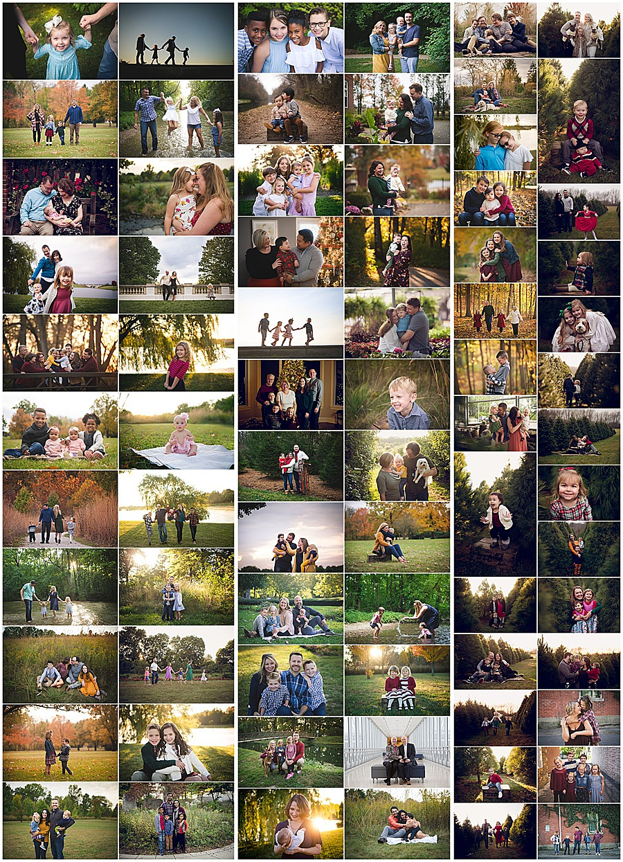 Family pictures - Indianapolis families from 2019