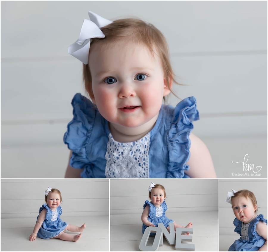 Hadley is one - 1st birthday pictures