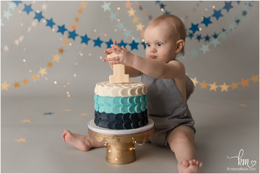 Cake Smash Photo - funny