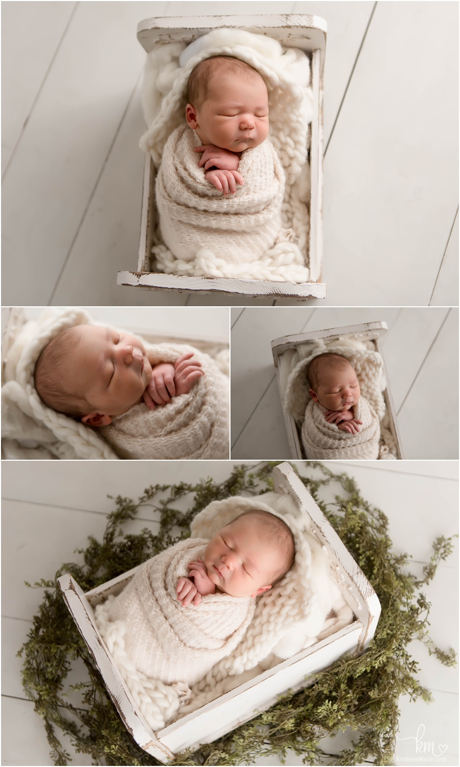 baby boy - classic newborn photography shots by photographer in Indianapolis