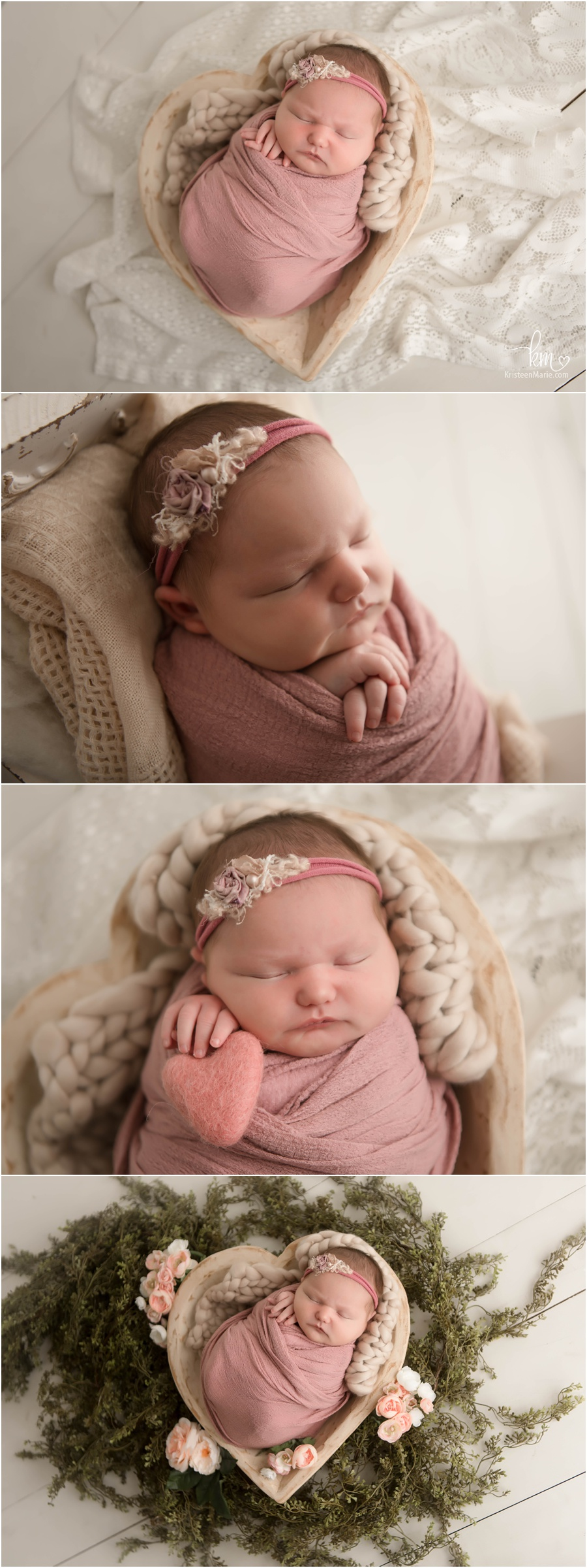 neutral newborn photography poses