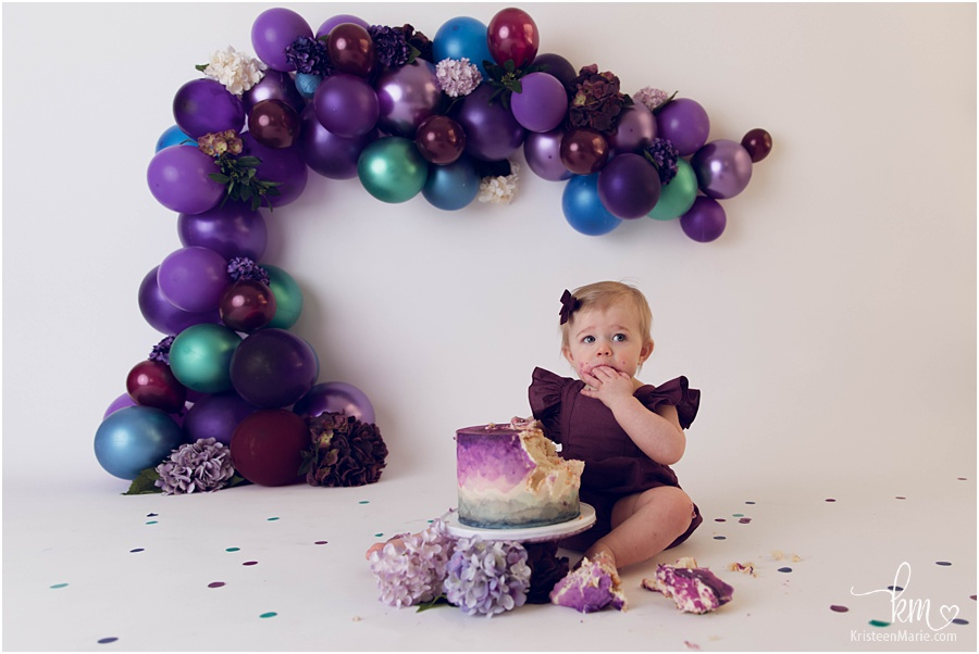 Brynn Lee Waddell - 1st Birthday Cake Smash Session