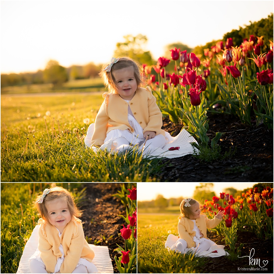 1st birthday pictures outside
