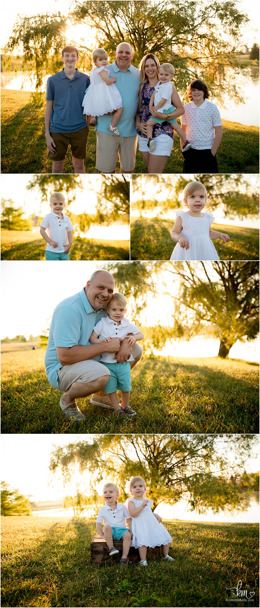 Indianapolis family photography at sunrise - KristeenMarie Photography