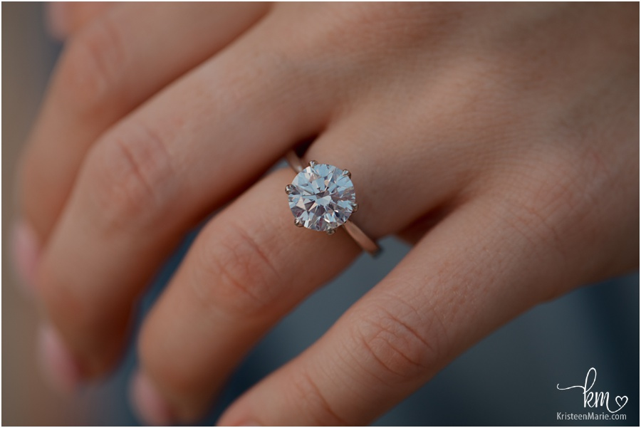 stunning and huge engagement ring