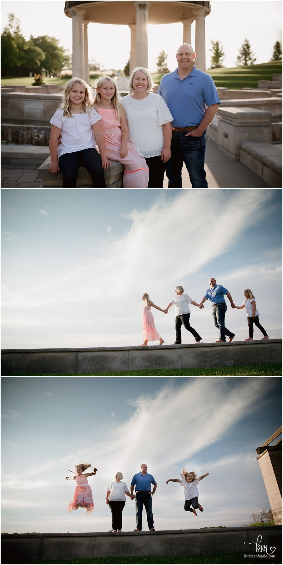 fun family potography poses