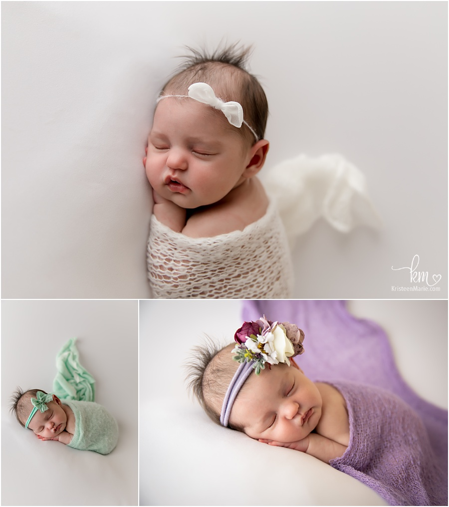 soft colors newborn photography
