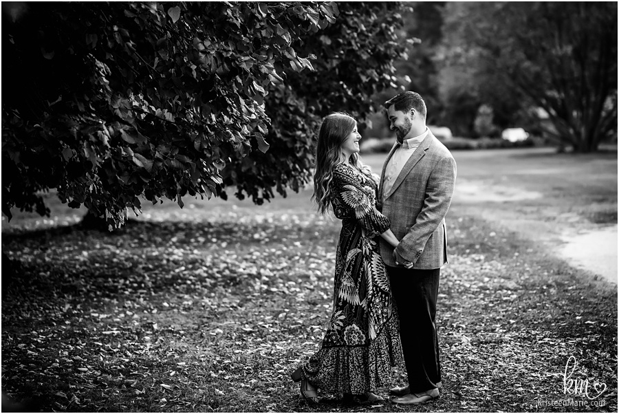 Holliday Park ruins - engagement pictures