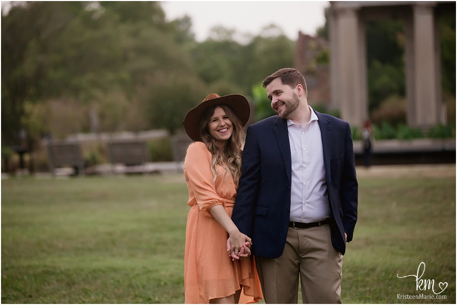 Holliday Park Indianapolis - engagement photography