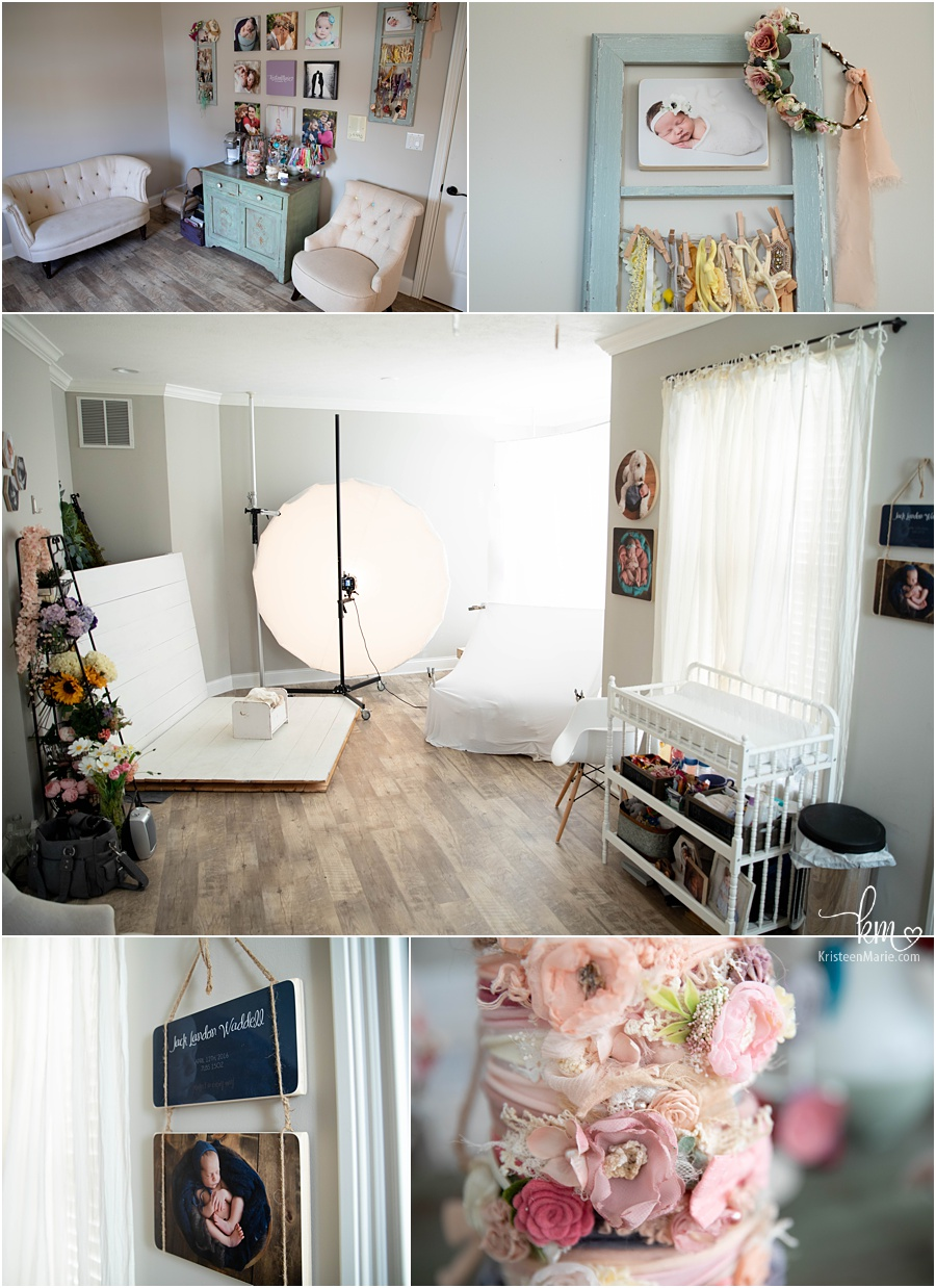 Photography Studio Inspiration - Behind the Scenes of Newborn Photography Studio