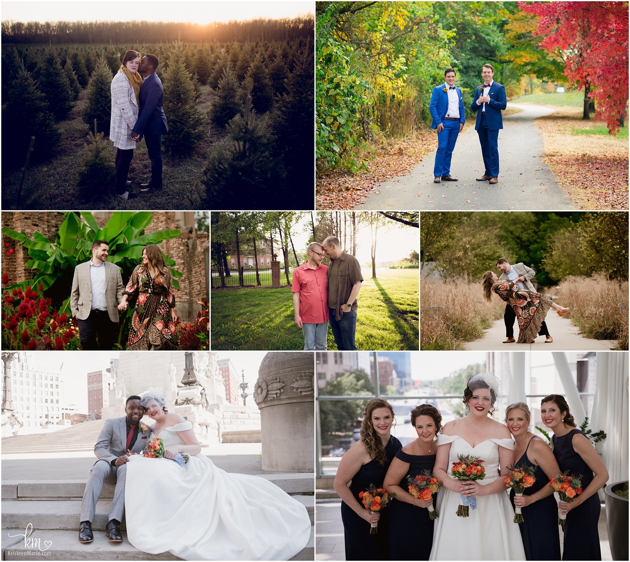 weddings and engaement photos
