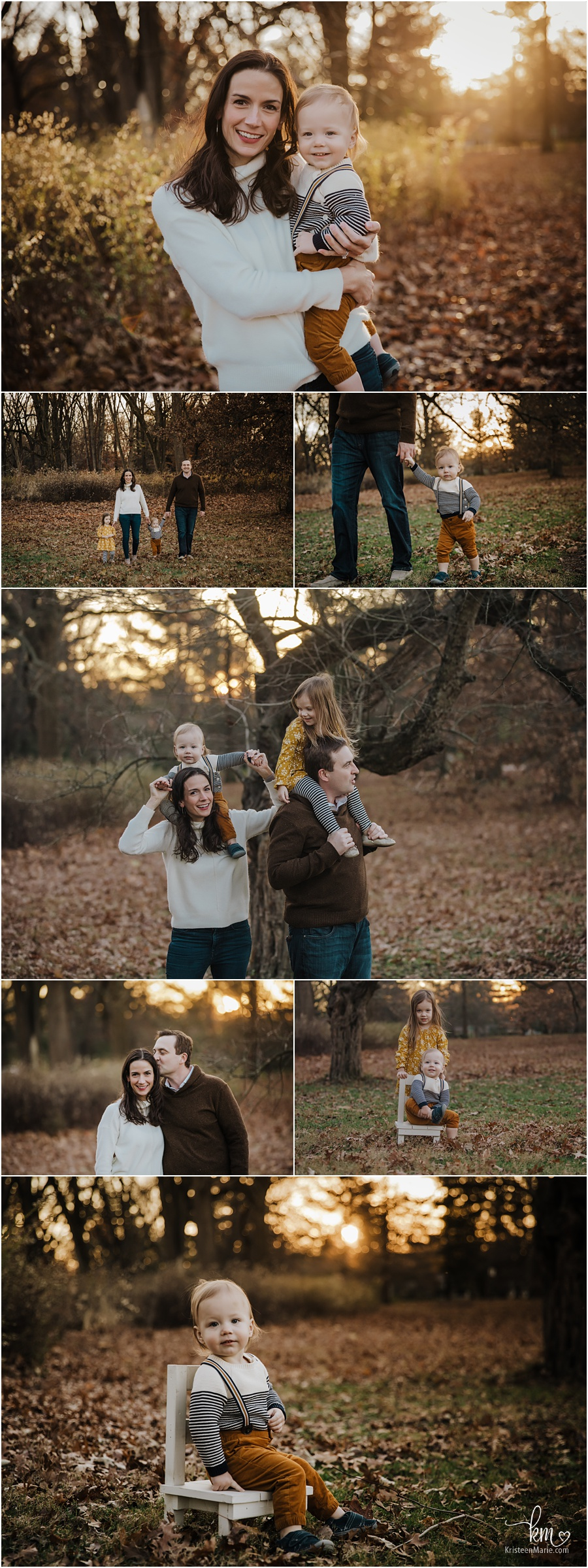 Indianapolis family photography - outdoor fall session