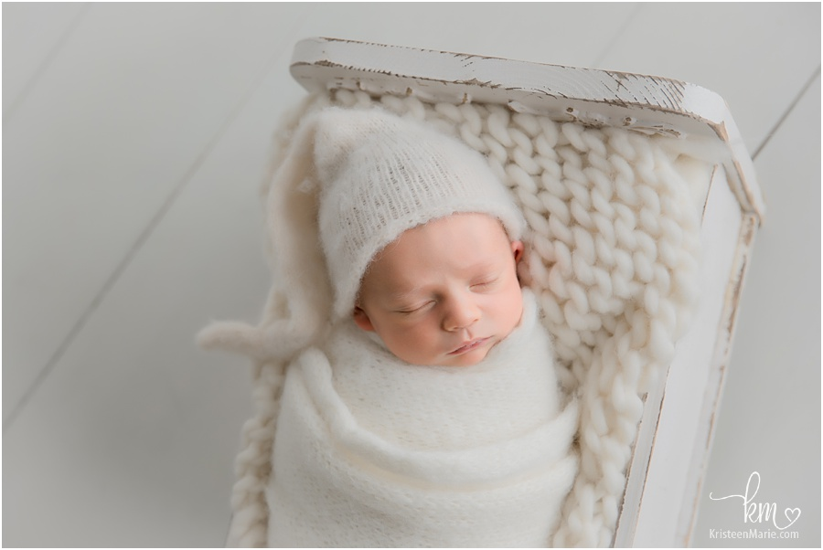 neutral newborn shot