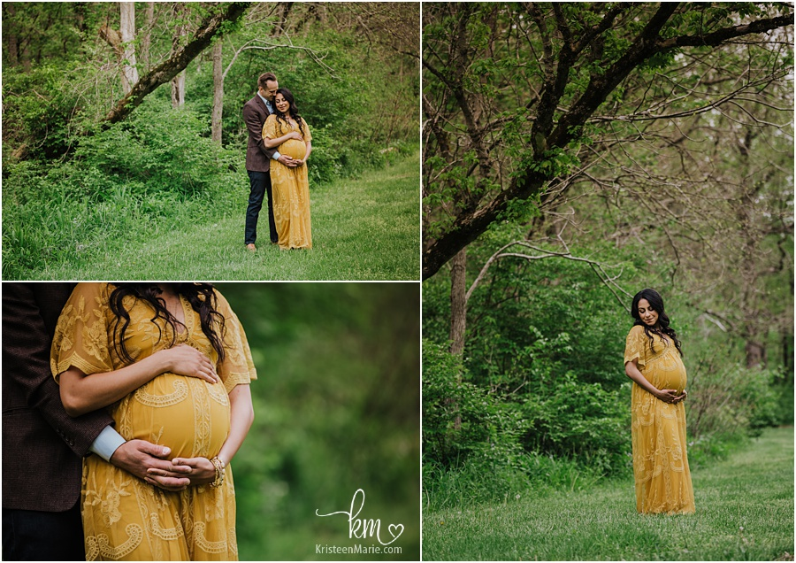 stunning expecting mother - maternity photography