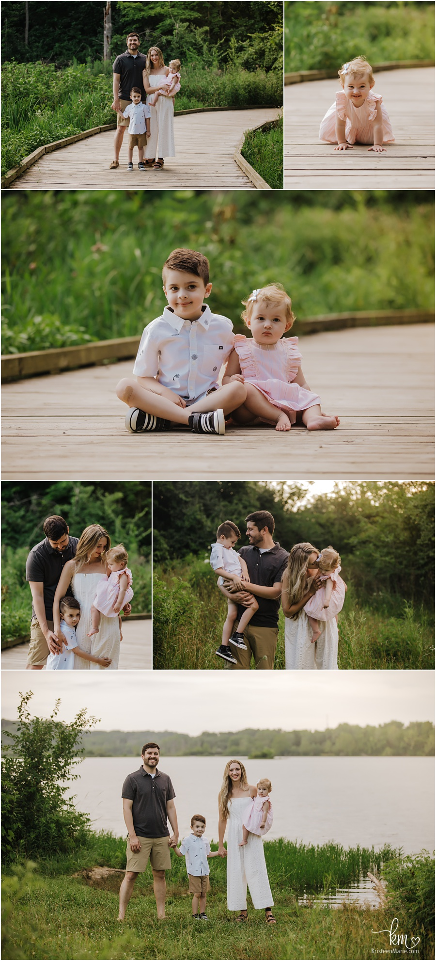 outdoor family photography at sunset