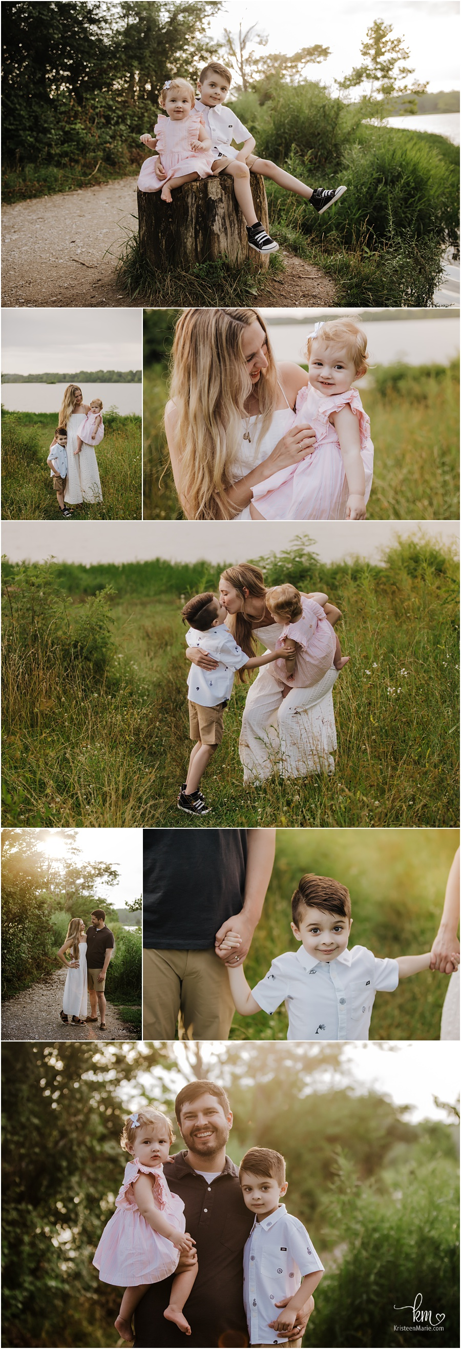 rustic family pictures - Indianapolis family photographer