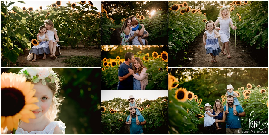 sunflower mini session pictures